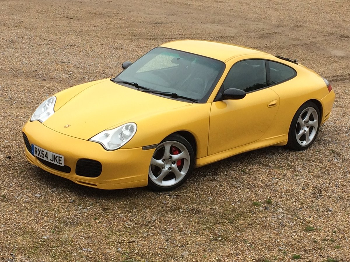 2004 Porsche 911 996 Carrera 4S RHD UK X51 72124mile manual 05MY  For Sale (picture 1 of 6)