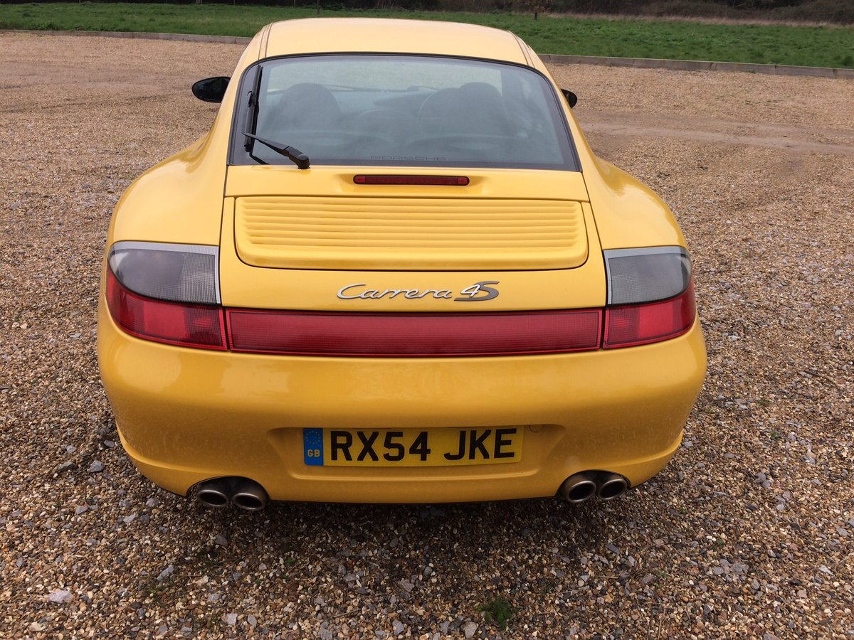 2004 Porsche 911 996 Carrera 4S RHD UK X51 72124mile manual 05MY  For Sale (picture 4 of 6)