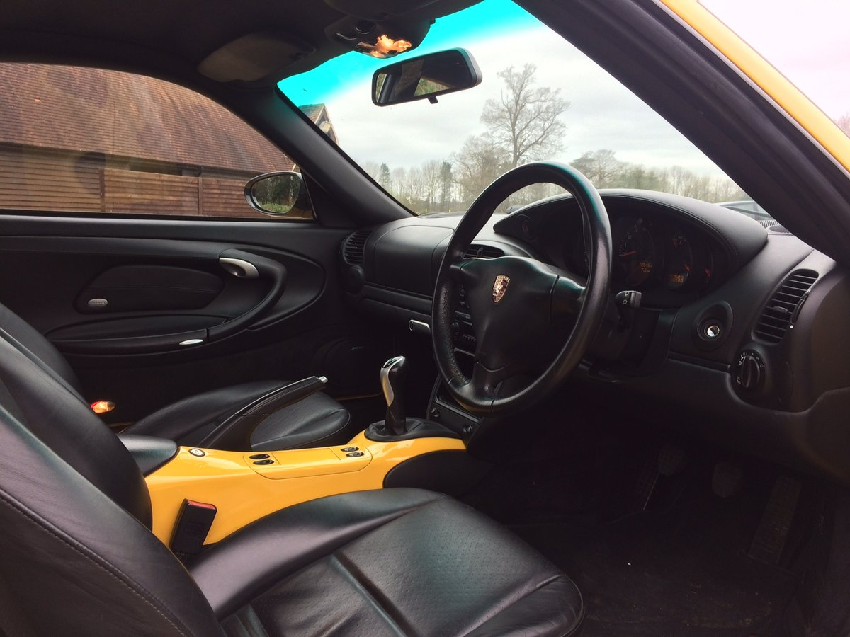 2004 Porsche 911 996 Carrera 4S RHD UK X51 72124mile manual 05MY  For Sale (picture 5 of 6)