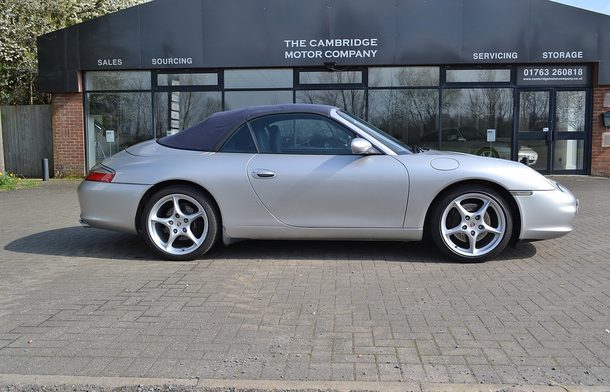 2003 Porsche 911(996) Carrera 4 3.6 SOLD (picture 1 of 6)