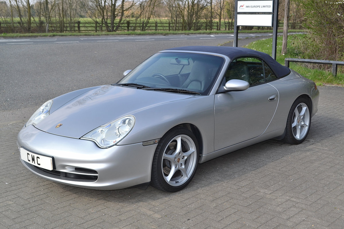 2003 Porsche 911(996) Carrera 4 3.6 SOLD (picture 2 of 6)