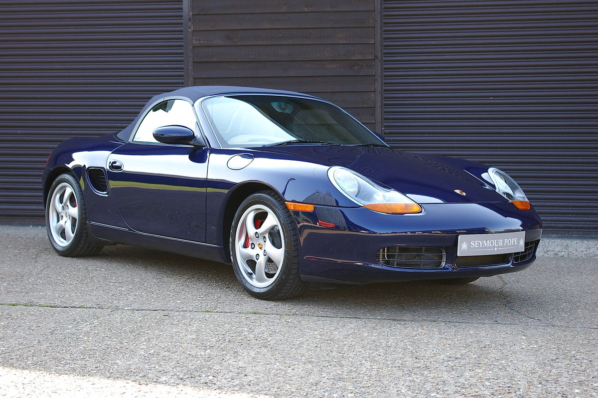 2001 Porsche 986 Boxster S 3.2 Convertible Manual (9,012 miles) SOLD (picture 1 of 6)