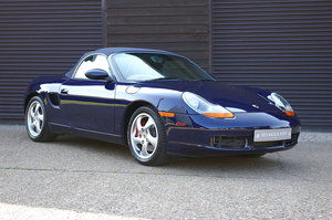 2001 Porsche 986 Boxster S 3.2 Convertible Manual (9,012 miles) SOLD