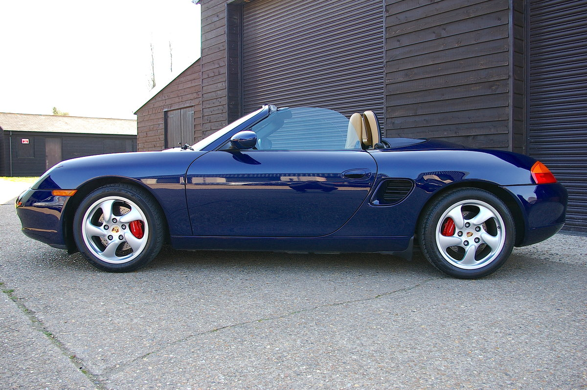 2001 Porsche 986 Boxster S 3.2 Convertible Manual (9,012 miles) SOLD (picture 2 of 6)