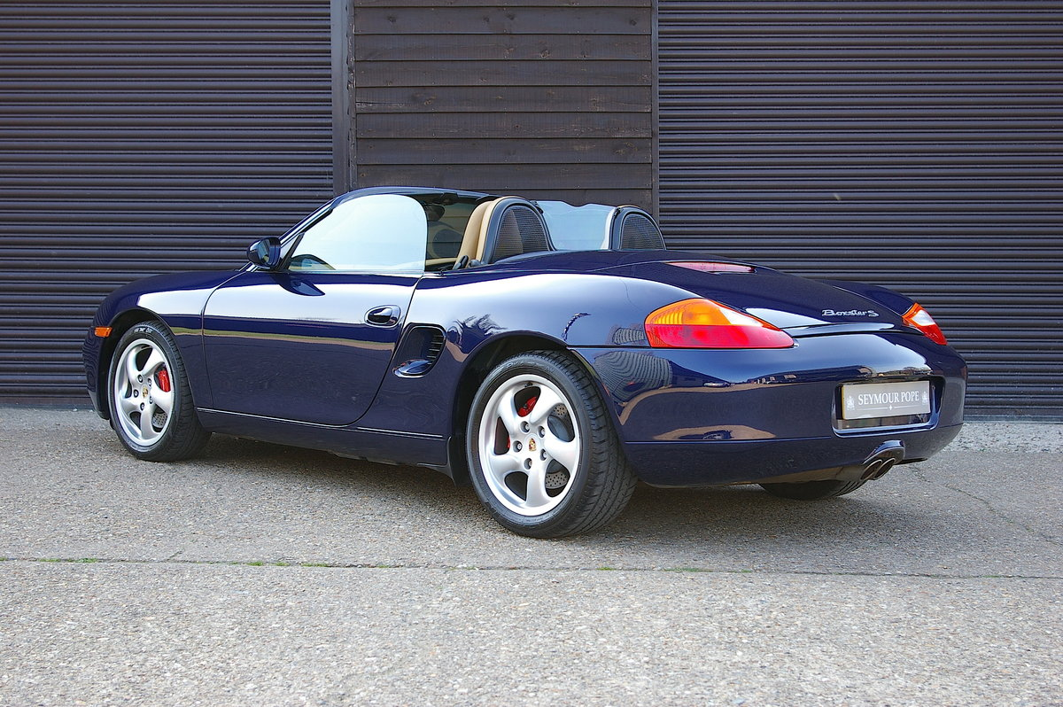 2001 Porsche 986 Boxster S 3.2 Convertible Manual (9,012 miles) SOLD (picture 3 of 6)