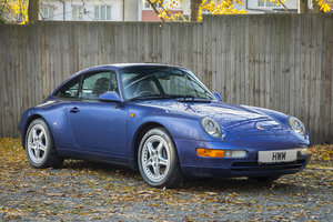 1996 PORSCHE  993 C2 TARGA - ZENITH BLUE For Sale