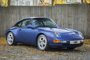 1996-PORSCHE  993 C2 TARGA - ZENITH BLUE For Sale