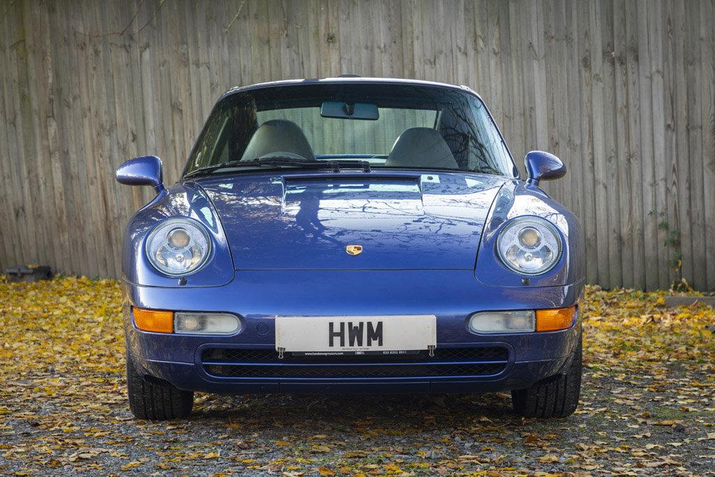 1996-PORSCHE  993 C2 TARGA - ZENITH BLUE For Sale (picture 2 of 6)
