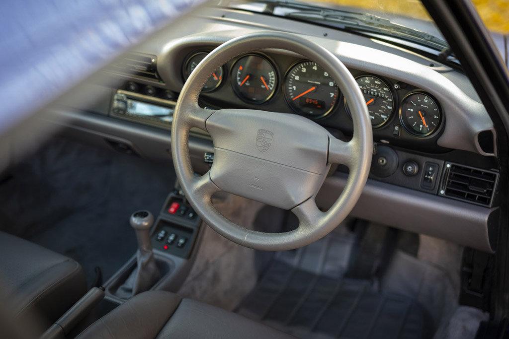 1996-PORSCHE  993 C2 TARGA - ZENITH BLUE For Sale (picture 3 of 6)