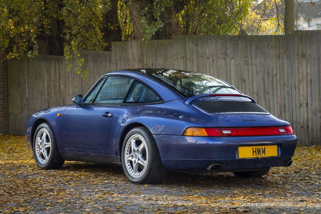 1996-PORSCHE  993 C2 TARGA - ZENITH BLUE For Sale (picture 4 of 6)