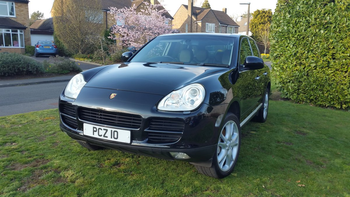 Porsche Cayenne S 4.5 - 2004 only 31,000 miles For Sale (picture 1 of 6)