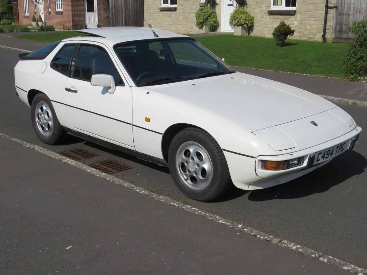 1986 PORSCHE 924S AUTO 127500 MILES FULL HISTORY For Sale (picture 2 of 6)
