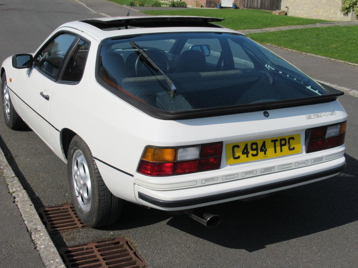 1986 PORSCHE 924S AUTO 127500 MILES FULL HISTORY For Sale (picture 3 of 6)