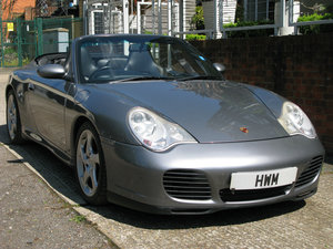2004 PORSCHE 996 C4S CABRIOLET MANUAL (SEAL GREY METALLIC) For Sale