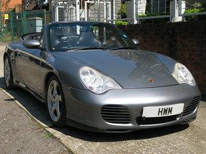 2004 PORSCHE 996 C4S CABRIOLET MANUAL (SEAL GREY METALLIC)