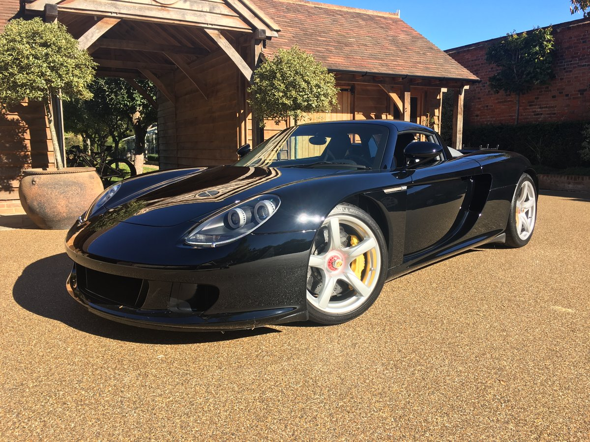 2005 Porsche Carrera GT with Carbon Pack For Sale (picture 1 of 6)