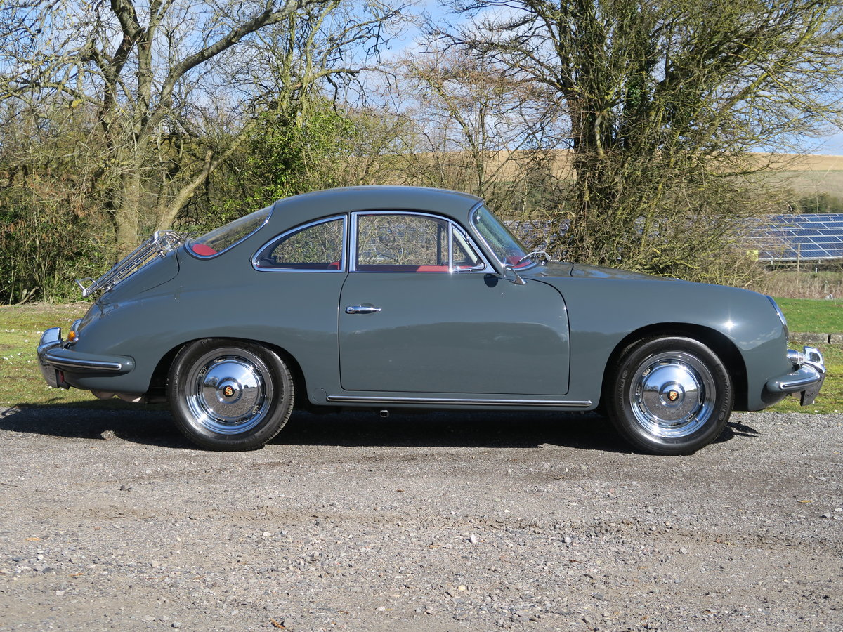 1963 Porsche 356B T6 Beautifully Restored For Sale (picture 2 of 6)