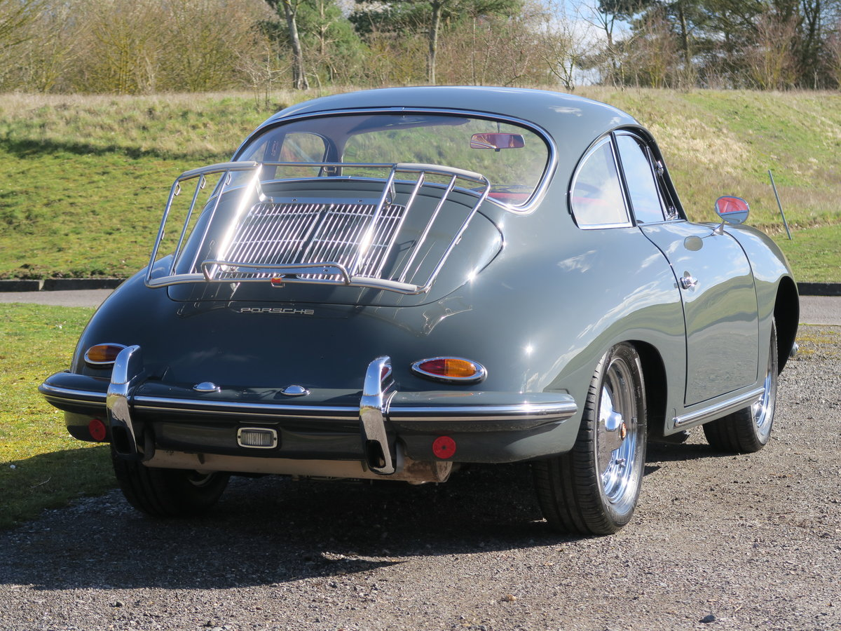 1963 Porsche 356B T6 Beautifully Restored For Sale (picture 3 of 6)
