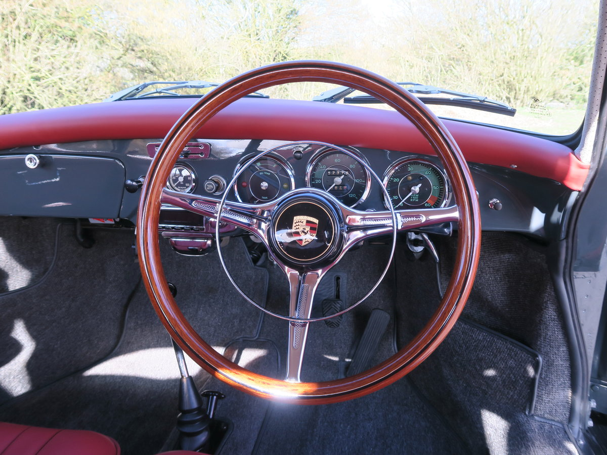 1963 Porsche 356B T6 Beautifully Restored For Sale (picture 4 of 6)