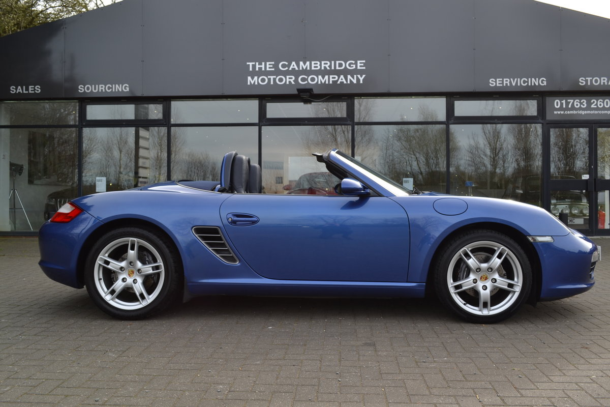 2007 Porsche Boxster 2.7 987 SOLD (picture 1 of 6)