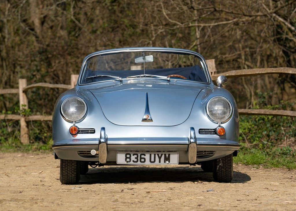 1962 Porsche 356B T6 Convertible by Reutter SOLD by Auction (picture 1 of 6)