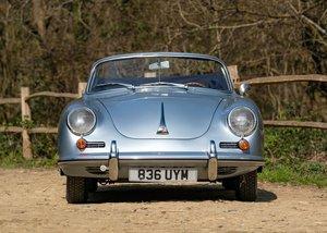 1962 Porsche 356B T6 Convertible by Reutter For Sale by Auction