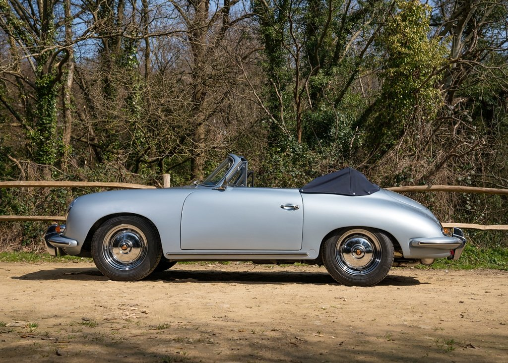 1962 Porsche 356B T6 Convertible by Reutter SOLD by Auction (picture 2 of 6)