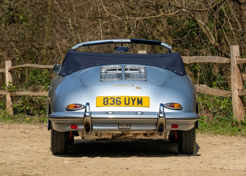 1962 Porsche 356B T6 Convertible by Reutter SOLD by Auction (picture 3 of 6)