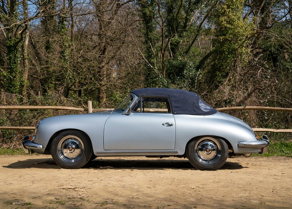 1962 Porsche 356B T6 Convertible by Reutter SOLD by Auction (picture 4 of 6)