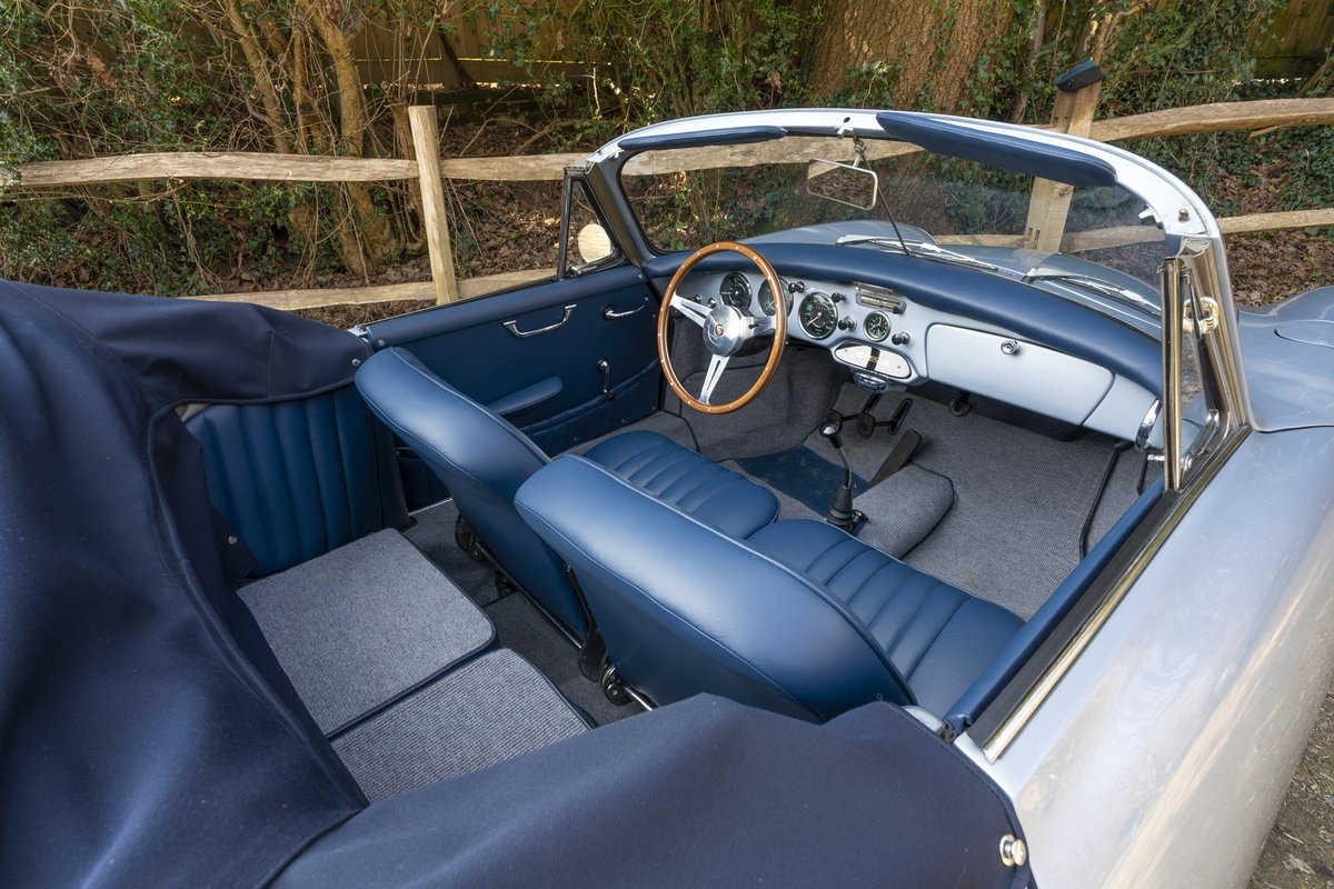 1962 Porsche 356B T6 Convertible by Reutter SOLD by Auction (picture 6 of 6)