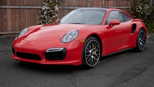 2016 Porsche 911 Turbo S = Auto-PDK Red 2.5k miles $159.5k