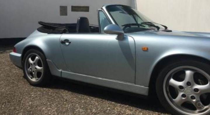 1991 PRICE REDUCTION - RHD 964 C2 Cabrio tiptronic in GERMANY For Sale (picture 2 of 6)