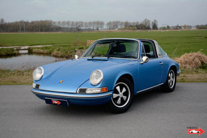 Porsche 911 2.4 T Targa Gemini Blue matching nr. SOLD