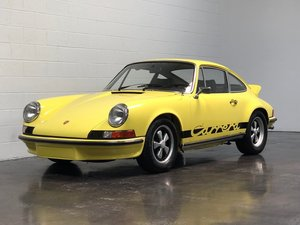 1973 Porsche 911 Carrera RS = Great History Yellow $659.5k For Sale
