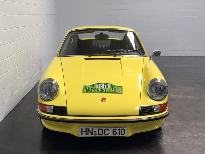 1973 Porsche 911 Carrera RS = Great History Yellow $659.5k For Sale (picture 3 of 6)