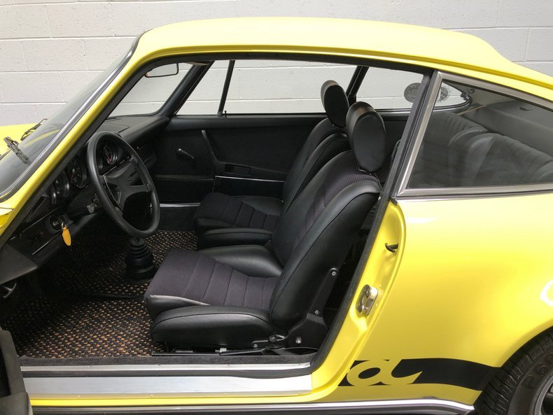 1973 Porsche 911 Carrera RS = Great History Yellow $659.5k For Sale (picture 4 of 6)