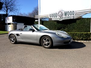2001 Porsche 986 Boxster, lovely car.