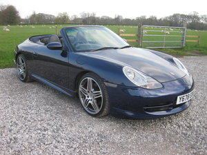 2001 Porsche 911 (996) Cabriolet For Sale