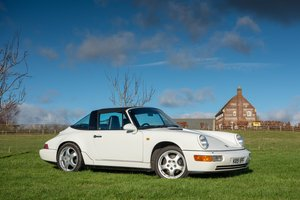 *Reduced* 1991 RHD Porsche 911 (964) Targa
