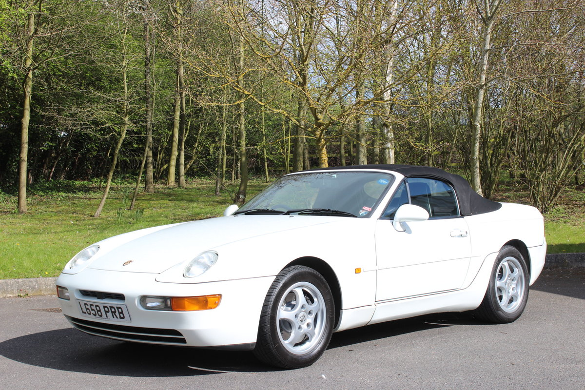 1994 PORSCHE 968 CABRIOLET - TIPTRONIC For Sale (picture 1 of 6)