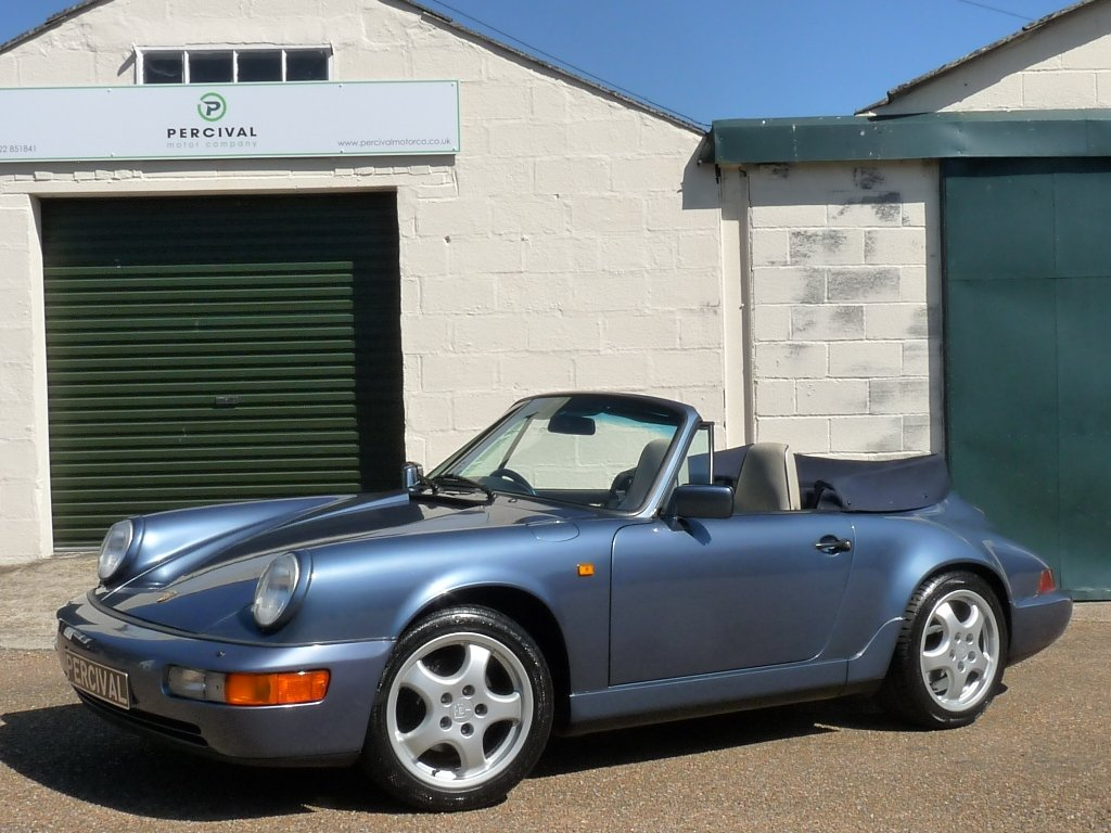 1990 Porsche 911 964 Cabriolet, Carrera 2 manual, SOLD SOLD (picture 1 of 6)