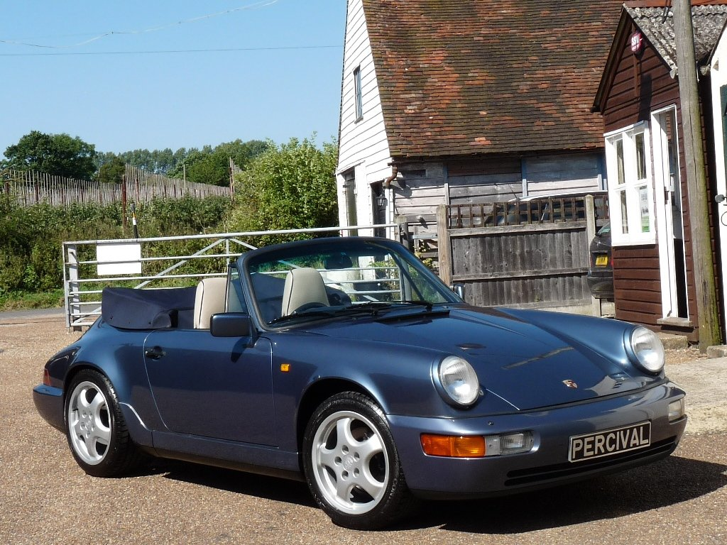 1990 Porsche 911 964 Cabriolet, Carrera 2 manual For Sale (picture 4 of 6)