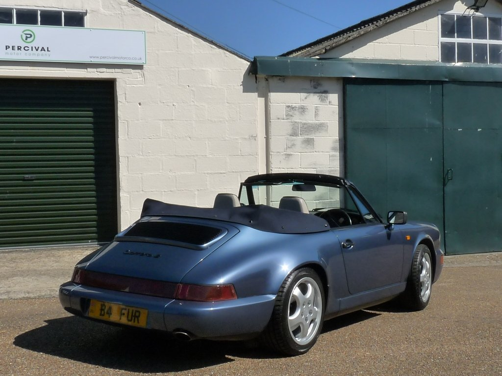 1990 Porsche 911 964 Cabriolet, Carrera 2 manual, SOLD SOLD (picture 6 of 6)