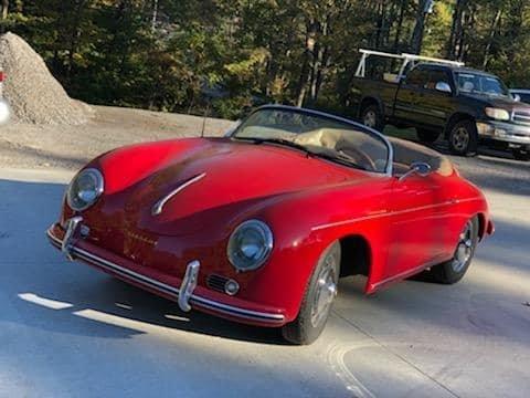 1956 Porsche 356 Speedster Replica (Woodstock, CT) $29,900 For Sale (picture 1 of 6)