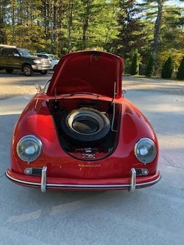 1956 Porsche 356 Speedster Replica (Woodstock, CT) $29,900 For Sale (picture 2 of 6)