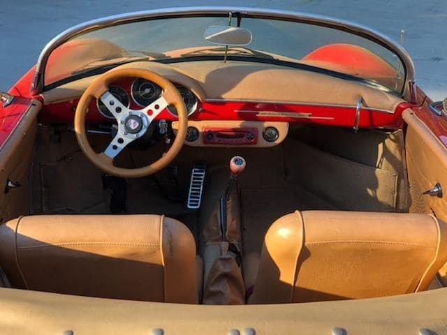 1956 Porsche 356 Speedster Replica (Woodstock, CT) $29,900 For Sale (picture 3 of 6)
