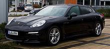 2011 Porsche Panamera Turbo S 4.8 L twin-turbocharged $25
