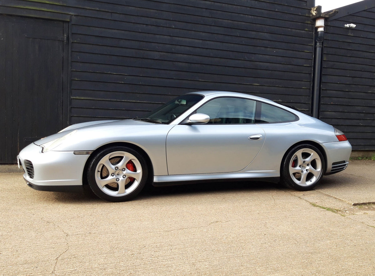 2004 PORSCHE 911/996 3.6 CARRERA 4S COUPE ( Turbo Body ) FPSH  SOLD (picture 1 of 6)