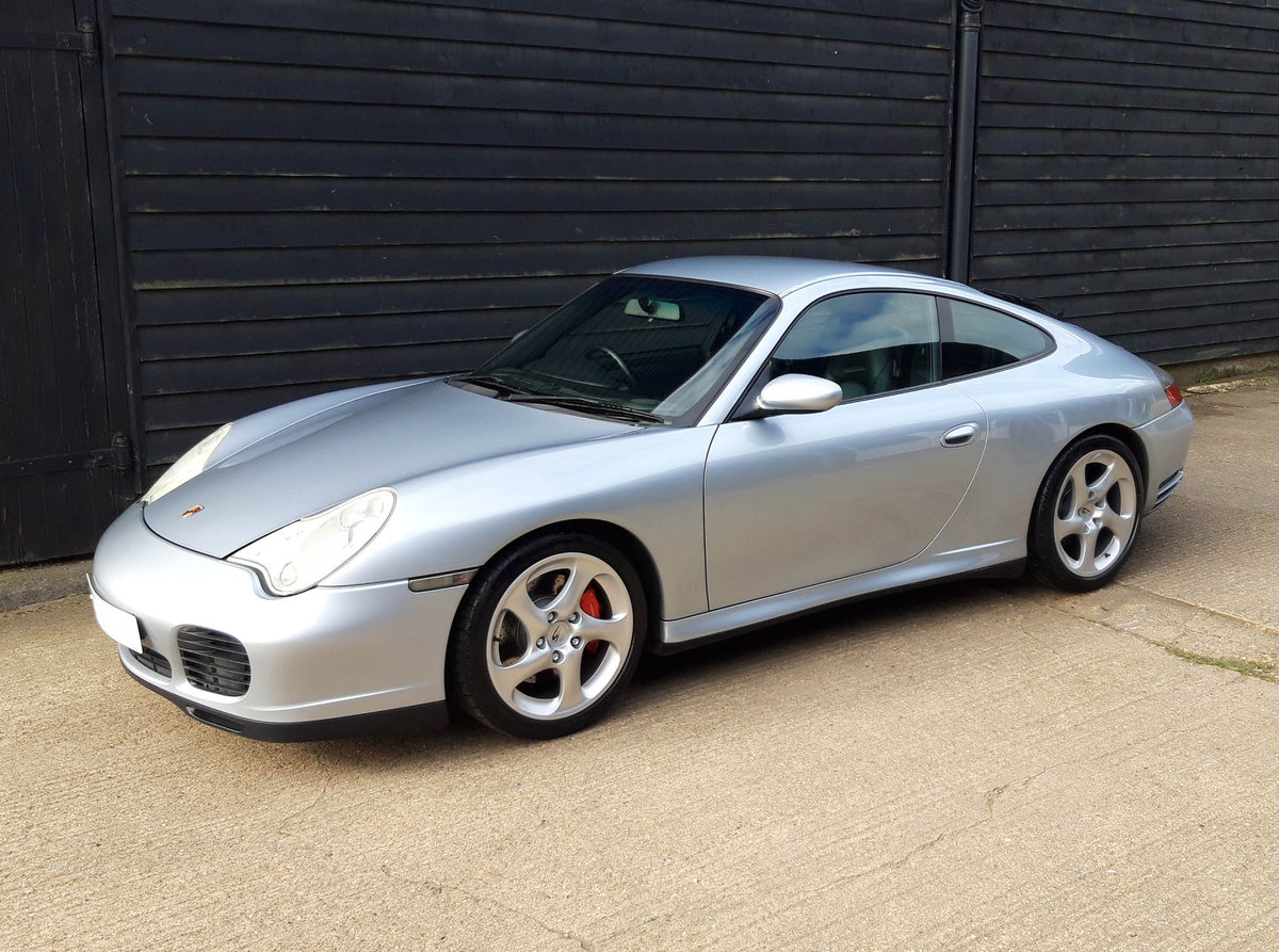 2004 PORSCHE 911/996 3.6 CARRERA 4S COUPE ( Turbo Body ) FPSH  SOLD (picture 3 of 6)