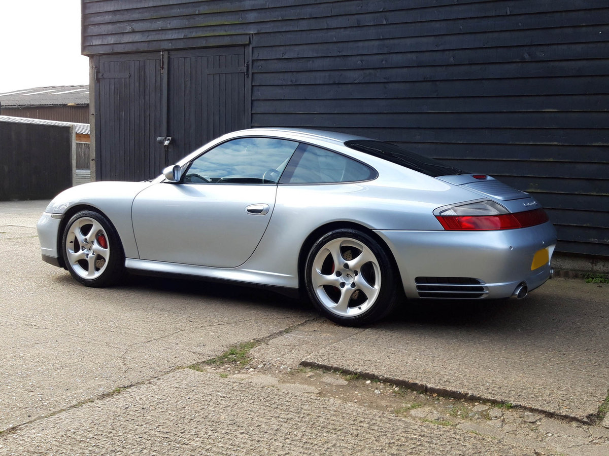 2004 PORSCHE 911/996 3.6 CARRERA 4S COUPE ( Turbo Body ) FPSH  SOLD (picture 5 of 6)